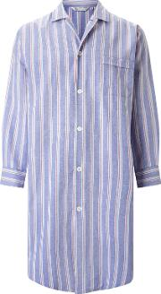 Brushed Cotton Stripe Nightshirt