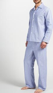 Brushed Cotton Stripe Pyjamas