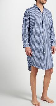 Cotton Stripe Nightshirt