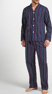 Multi Stripe Woven Cotton Pyjamas