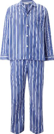 Stripe Woven Cotton Pyjamas