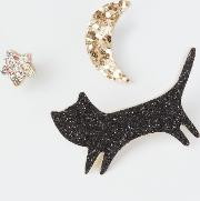 Lours Cat, Moon And Star Badges