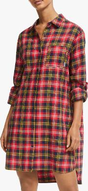 Check Please Flannel Nightshirt