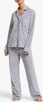 Stretch Fleece Pyjama Set