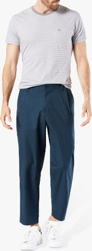 Cropped Tapered Chinos