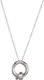 Together Knot Charm Pendant Necklace
