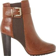 Orine Block Heeled Ankle Boots