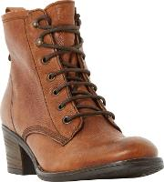 Patsie D Lace Up Ankle Boots