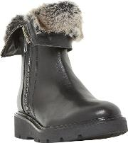Raiden Faux Fur Calf Boots