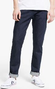 Ed 80 Slim Tapered Mid Rise Jeans