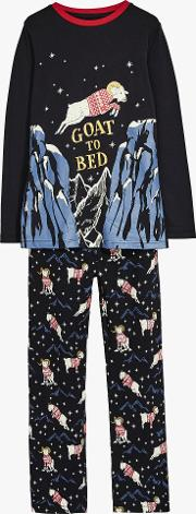 Boys' Gordon Goat Glow In The Dark Pyjamas