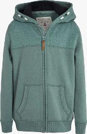 Boys' Plain Zip Through Hoodie