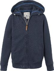 Boys' Zip Through Hooded Sweatshirt