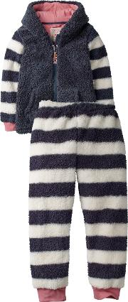 Childrens Lemur Fleece Twosie Pyjamas
