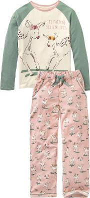 Children's Oh Deer Jersey Pyjamas