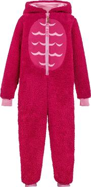 Children's Owl Fleece Onesie