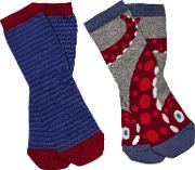 Children's Sea Creature Socks, Pack Of 2