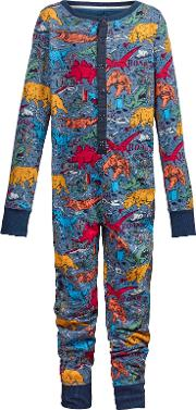 Children's Wild Imagination Dinosaur Print Onesie
