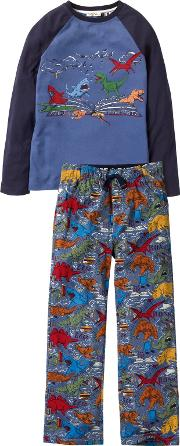 Childrens Wild Imagination Dinosaur Print Pyjamas