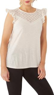 Copper & Black Selby Lace Top