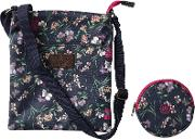 Girls' Floral Bag And Purse