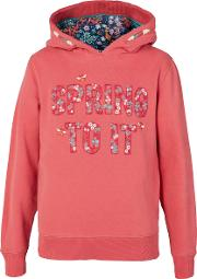 Girls' Spring To It Graphic Pullover Hoodie