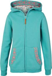 Girls' Zip Through Butterfly Graphic Hoodie