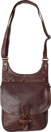 Hannah Oiled Cross Body Bag