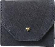 Heart Stud Fold Over Purse
