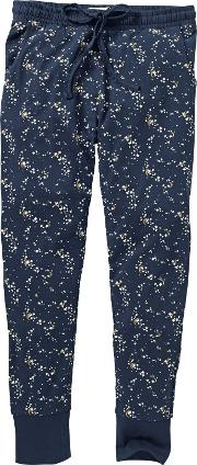 Luna Sky Jersey Legging Pyjama Bottoms