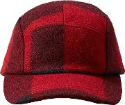 Five Panel Mackinaw Wool Cap, One Size