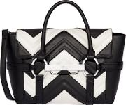Barbican Small Flapover Patterned Tote Bag