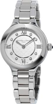 Fc 200whd1er36b Women's Classics Delight Diamond Stainless Steel Bracelet Watch