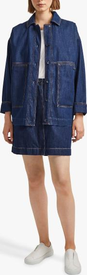 Julie Denim Utility Jacket