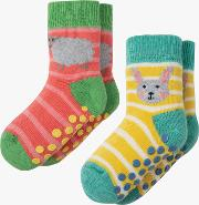 Baby Organic Cotton Grippy Socks