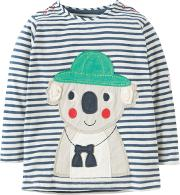 Baby Everest Koala Applique Top. Multi