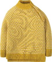 Organic Baby Fisherman Jumper