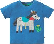Baby Horse Applique Top