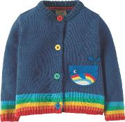 Baby Lil Happy Day Whale Cardigan