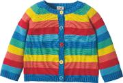 Baby Little Happy Day Striped Cardigan, Multi