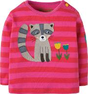 Baby Raccoon Stripe Top