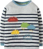 Baby Raincloud Stripe Top
