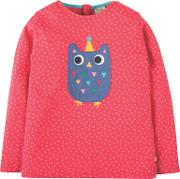 Girls' Erin Applique Owl Top