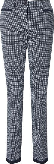 Denise Trousers, Navywhite
