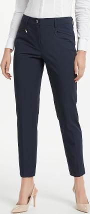Dina Slim Cropped Trousers