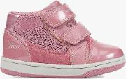 Children's B N.flick Double Riptape First Shoes