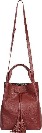 Le Sazo Leather Bucket Bag