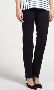Roxy Perfect Slim Leg Regular Length Jeans, Marine Navy
