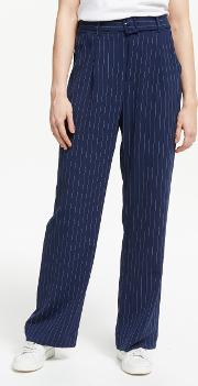 Kine Stripe Straight Fit Trousers