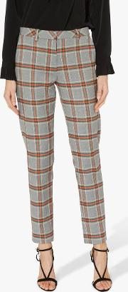 Monet Check Trousers
